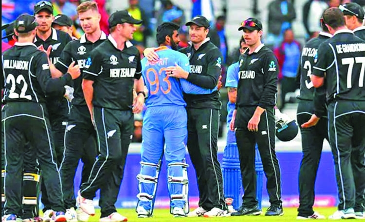 Modi talks about team India's 'fighting spirit' after WC exit
