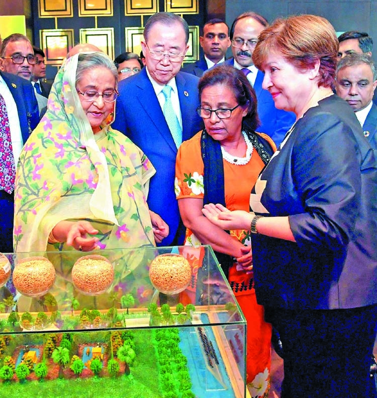 Ban Ki-moon praises BD for climate adaptation