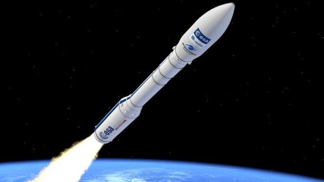European Vega rocket lost after liftoff