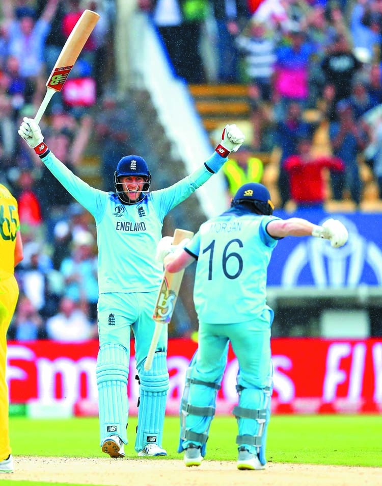 England in WC final after 27 yrs