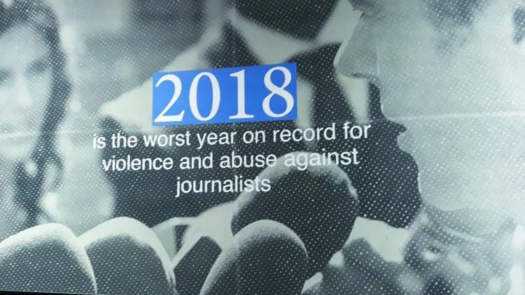 'Irresponsible journalism imperils freedom of expression'