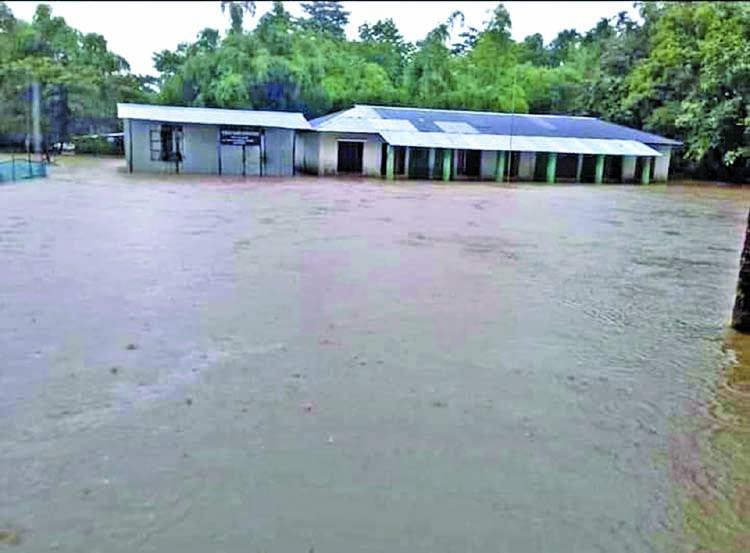 30 schools shut in Sunamganj for flash flood