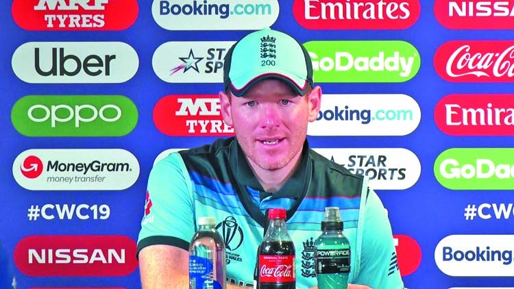 England must not shy away from final: Eoin Morgan