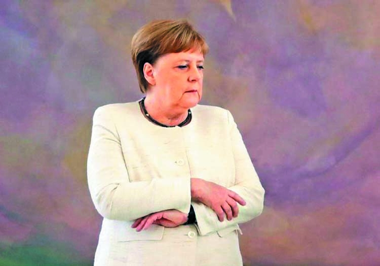 Merkel's health is a personal issue: Public poll