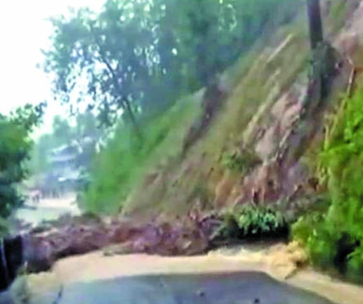 Two killed in landslide in Kaptai