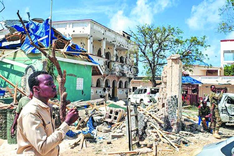 26 killed in Somalia hotel attack