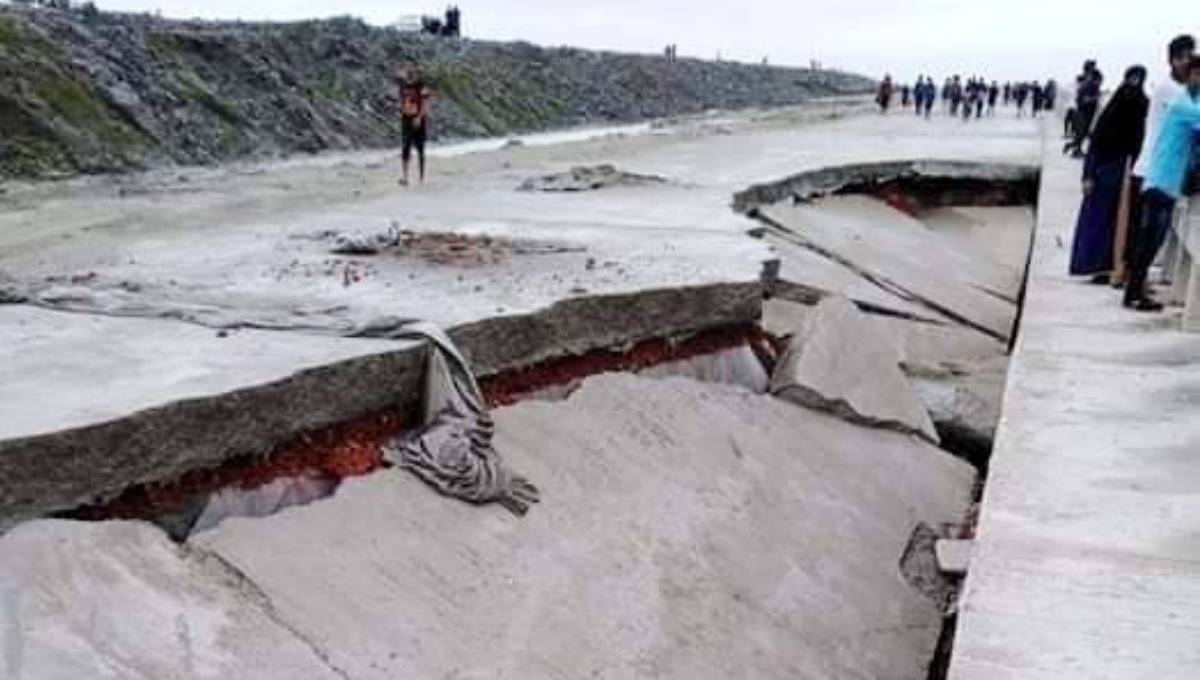 Chattogram's outer ring road collapses before inauguration