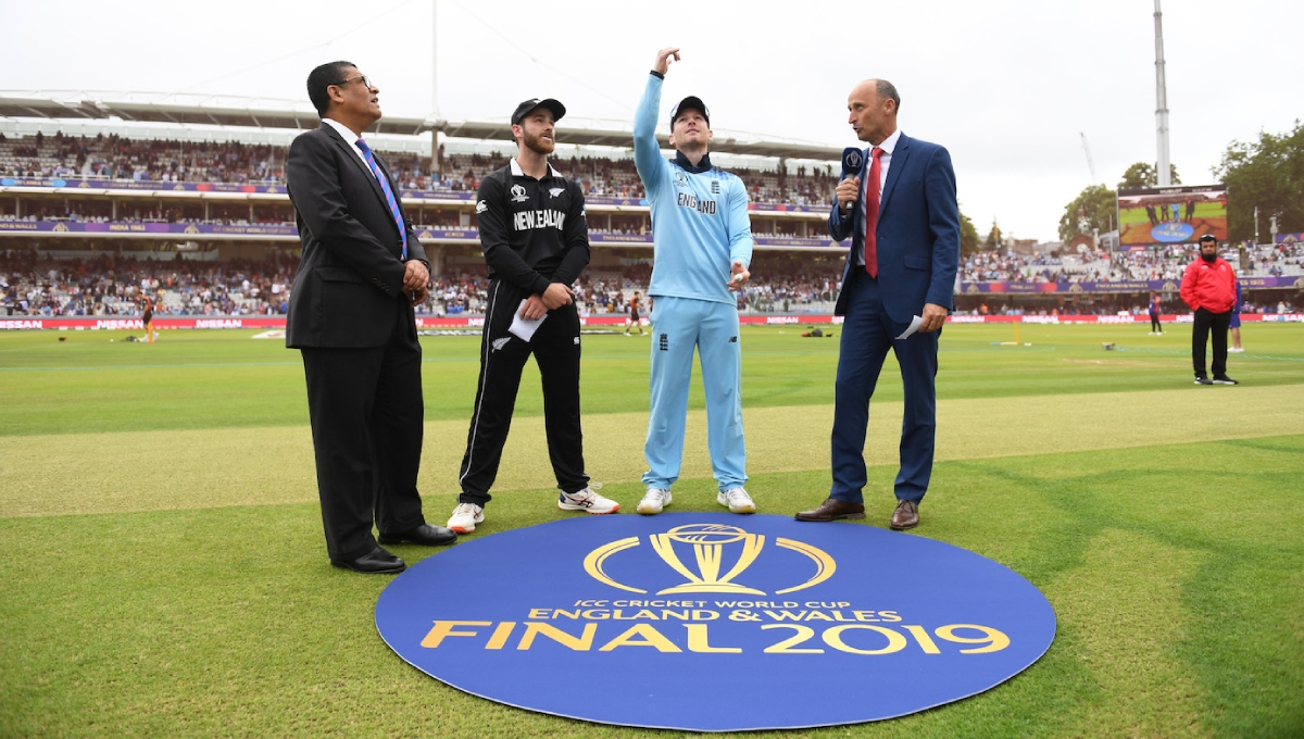 ICC WC final: New Zealand opt to bat first