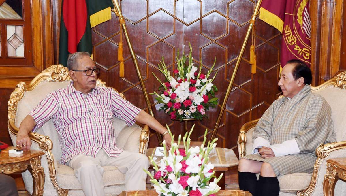 Outgoing Bhutanese envoy meets President