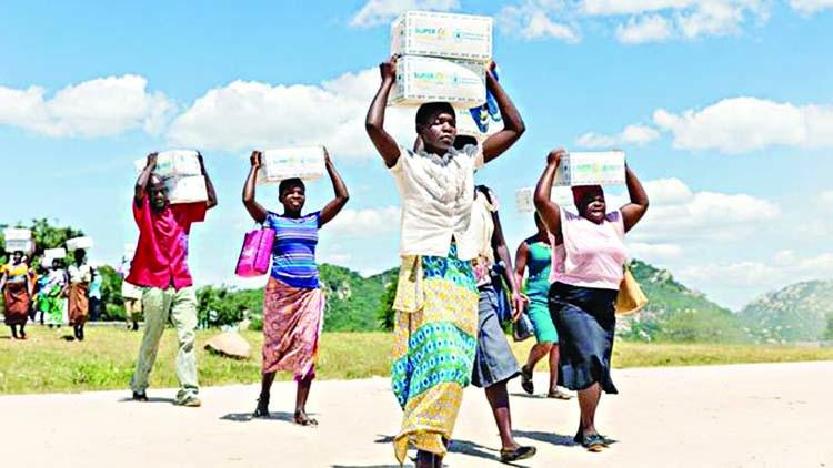 'Zimbabwe's third of population faces food crisis'