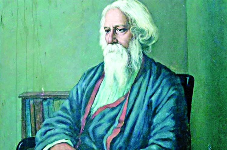 Rabindranath's 78th death anniversary observed