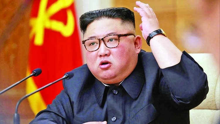 Missile launches 'warning' to South Korea: Kim