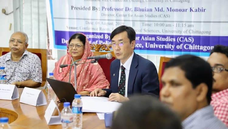 Takeshi Ito talks on Dhaka-Tokyo ties at CU