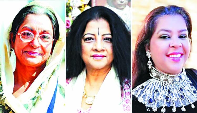 Dilara, Fatema and Nargis honored at BSA