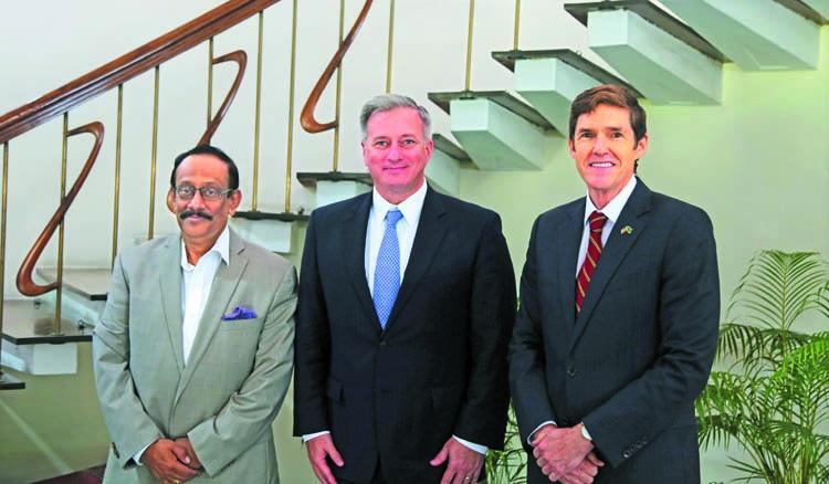 US Ambassador-at-Large visits Bangladesh