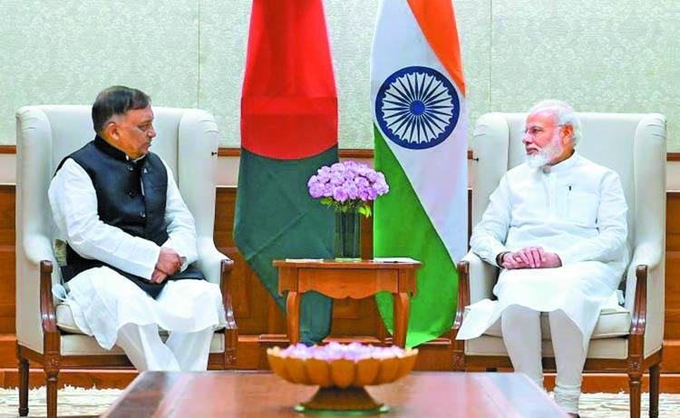 Modi praises Hasina's leadership