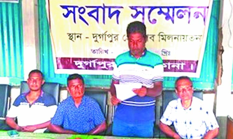 Press conference held against 'false news'