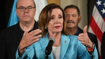 Pelosi leads delegation on migration issues to El Salvador