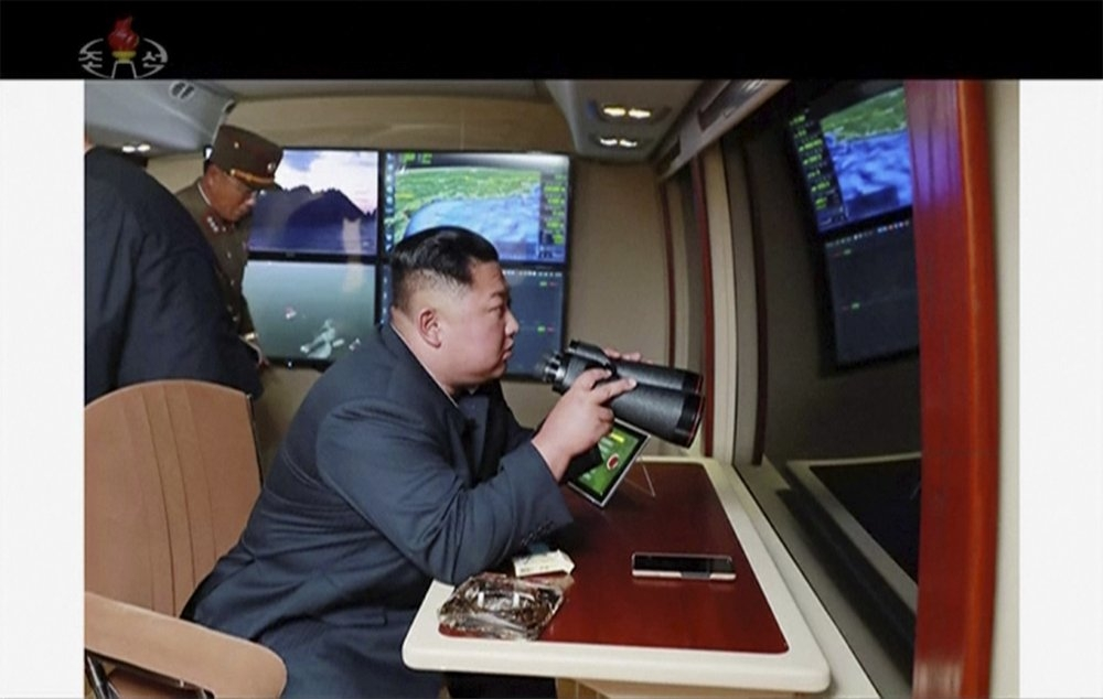 NKorea fires 2 missiles into sea in likely protest of