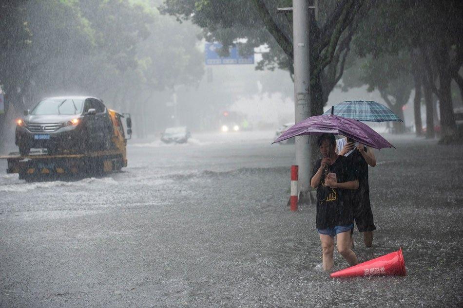Super Typhoon Lekima slams into southeast China