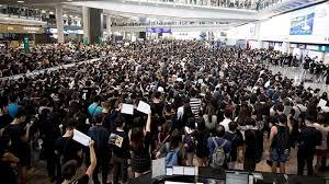 Hong Kong airport cancels all Monday flights due to protests