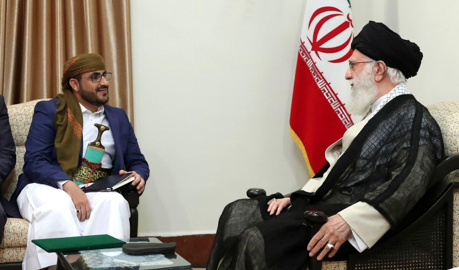 Iran supreme leader urges support for Yemen's Houthi rebels