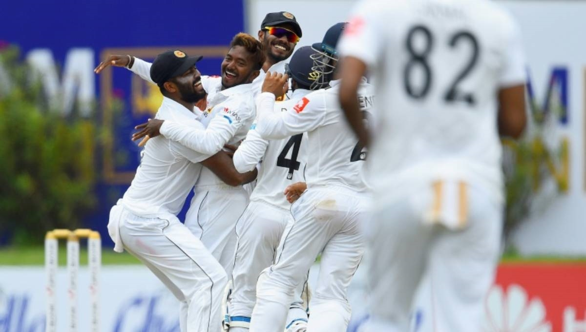 Sri Lanka's Dananjaya takes 5, New Zealand 179-5 in 1st test