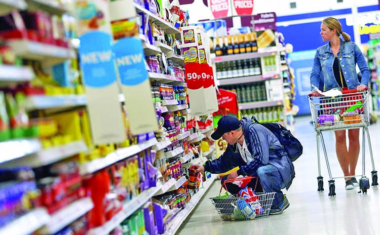 UK inflation unexpectedly overshoots BoE target
