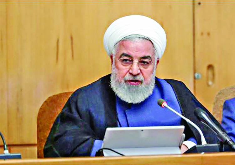 Rouhani rejects Israeli involvement in Gulf