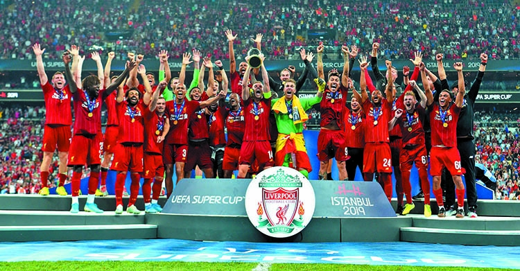 Reds clinch UEFA Super Cup on penalties