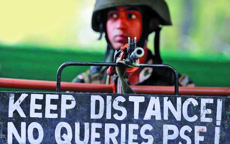 '3 Pakistani, 5 Indian soldiers die' in clash