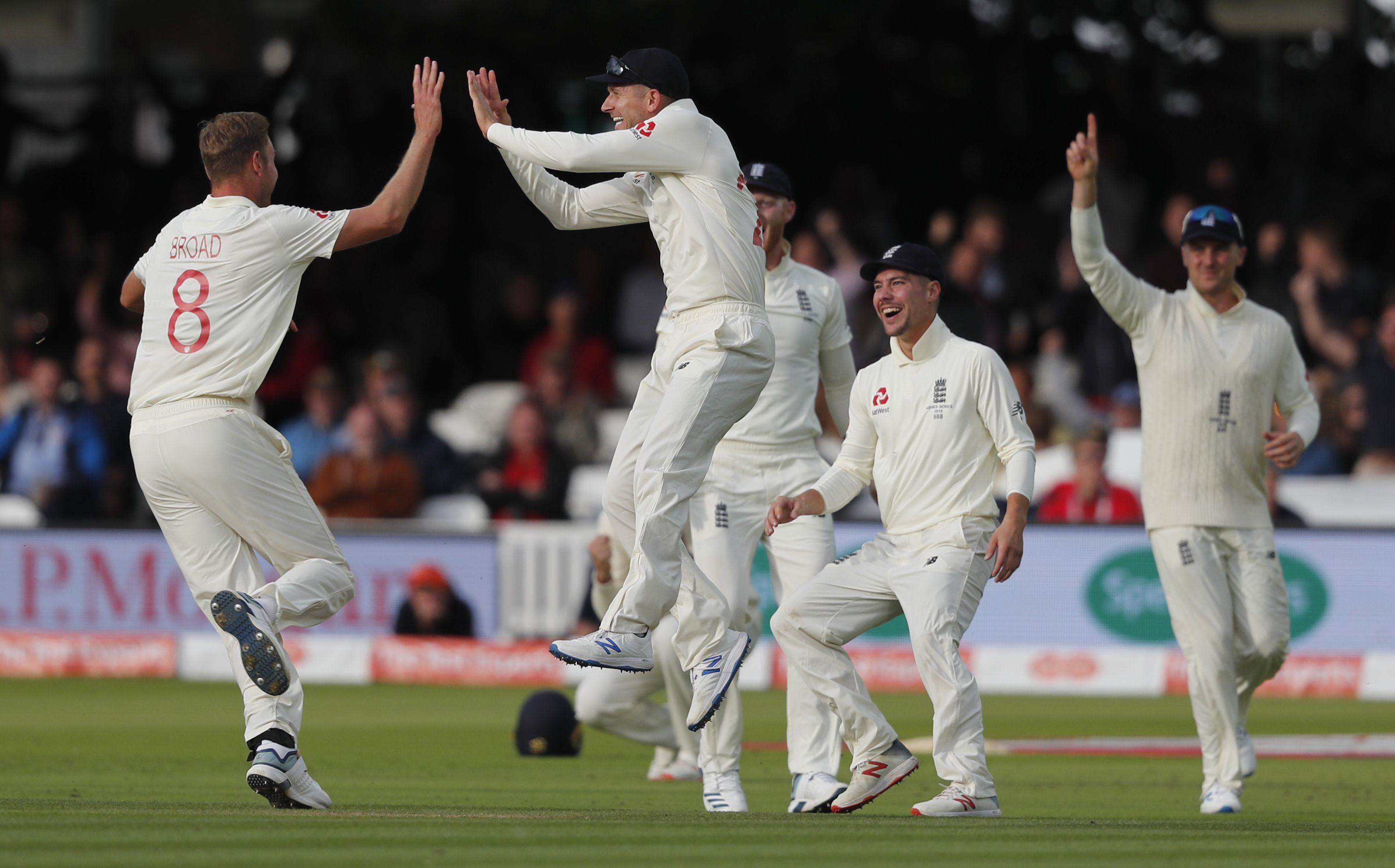 Ashes: Australia's fast start slowed by Bairstow, Broad