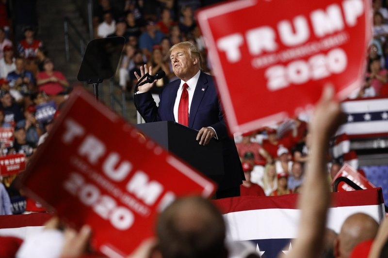 Trump ties US success to 2nd term: 'You have to vote for me'