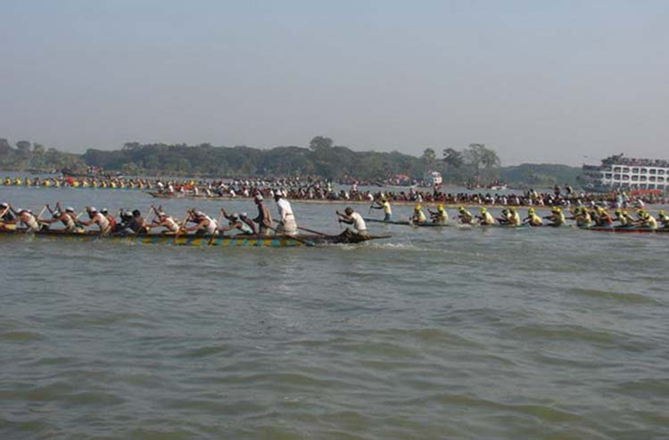 Kirtankhola River in Barisal