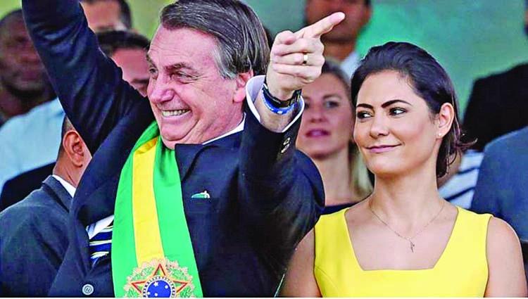 Bolsonaro again stresses sovereignty over Amazon
