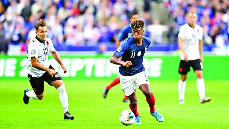 Coman is the King of France again
