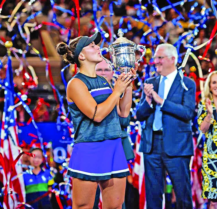 Andreescu stuns Serena to clinch US Open title