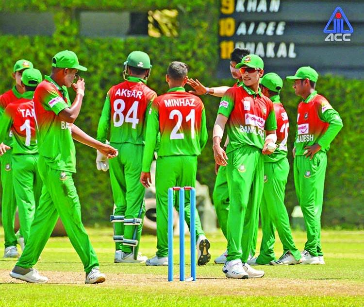 Akbar stars as young Tigers crush Nepal