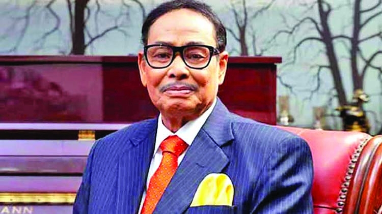 Ershad recognized as 'successful statesman'
