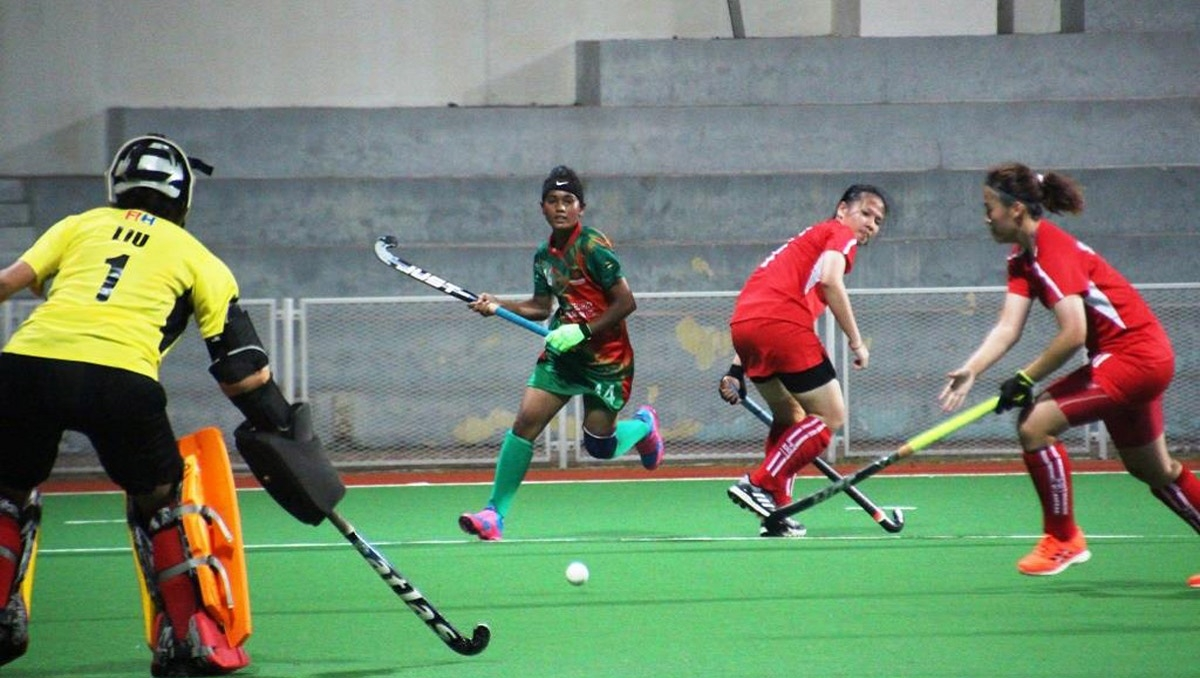 Women's AHF Cup: Bangladesh suffer 0-3 defeat against hosts Singapore