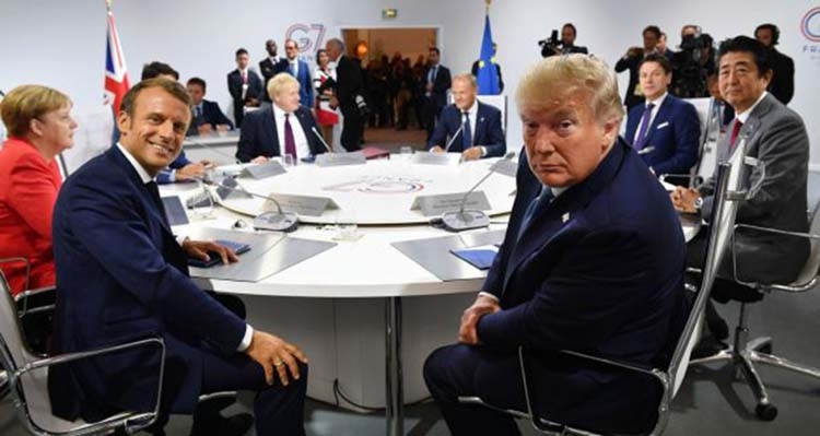 G7 summit ends with a veneer of unity