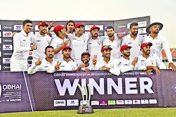Afghans' historic win against Tigers