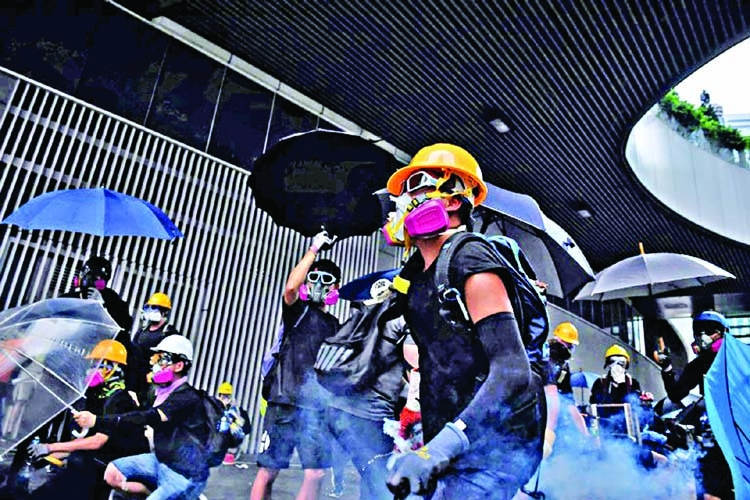 'Braves' on the frontlines of Hong Kong's protests