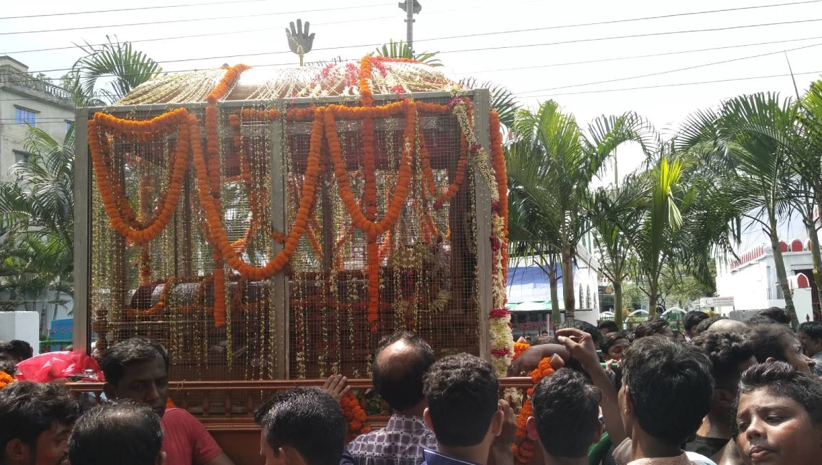 Tajia procession brought out in city