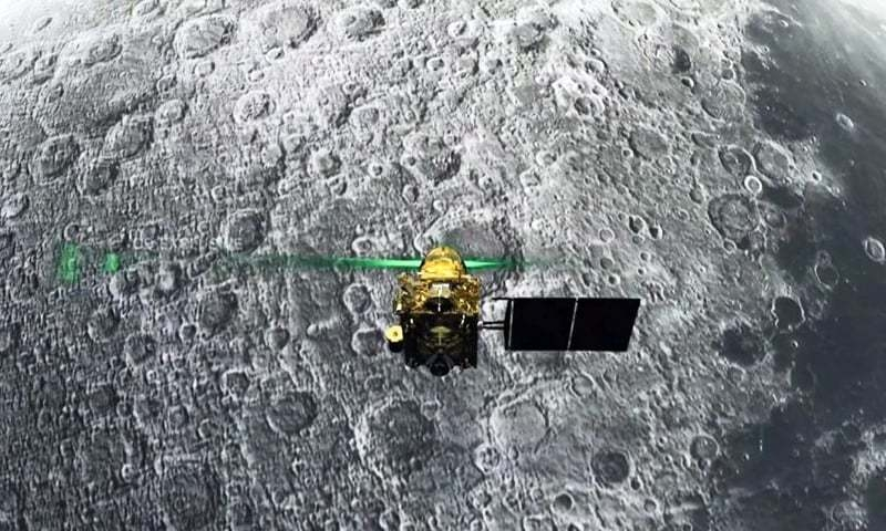 India's moon mission locates landing craft, no communication yet