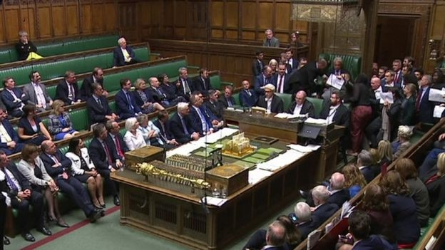 Five-week UK parliament shut-down begins
