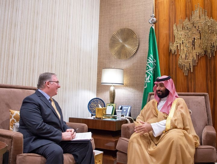 Saudi crown prince hosts Christian evangelicals