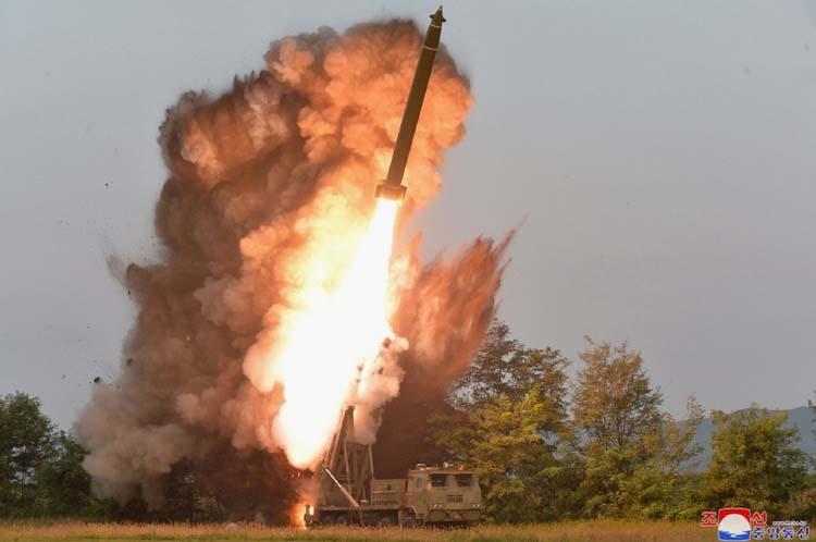 N Korea confirms 2nd test of multiple rocket launcher