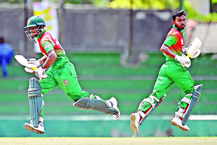 Young Tigers face Afghans today