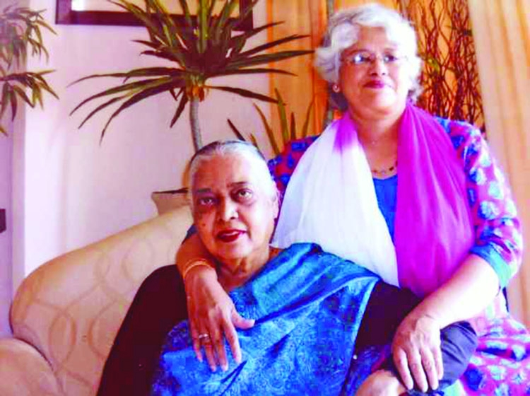 A grandmother remembered, in love